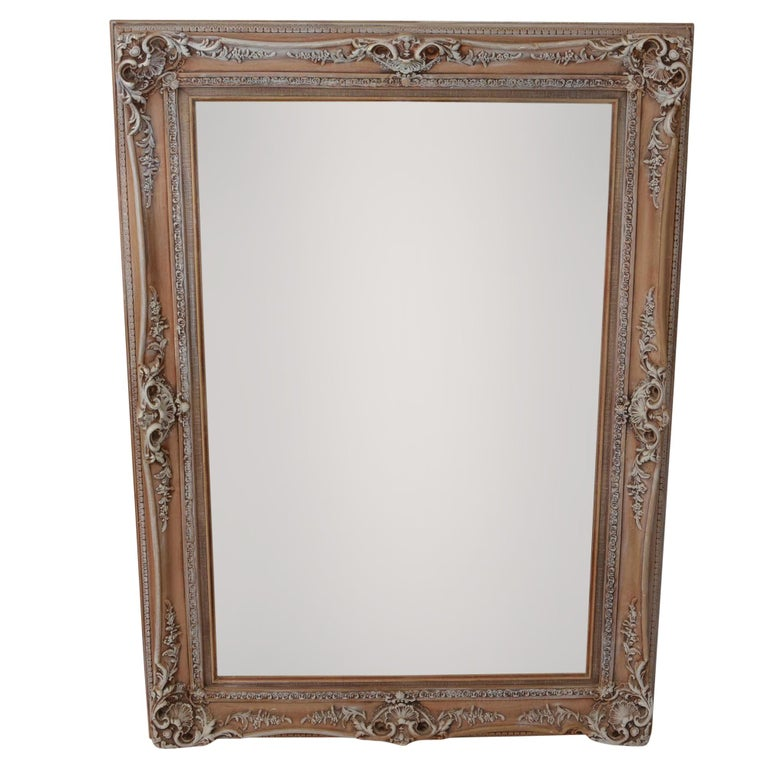 Antique Ornate Frames with New Mirrors, Pair For Sale at 1stdibs