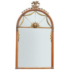 Large Neoclassical Antique Mirror