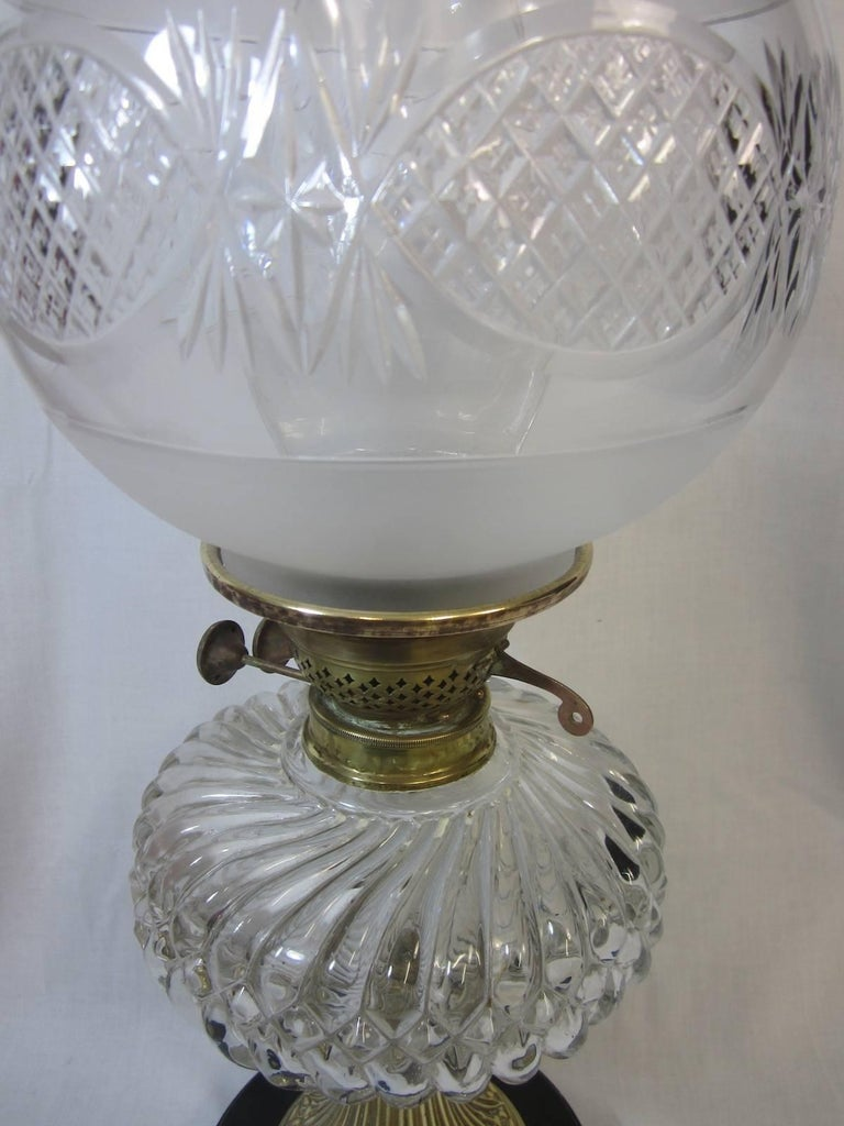 Duplex Oil Lamp At 1stdibs