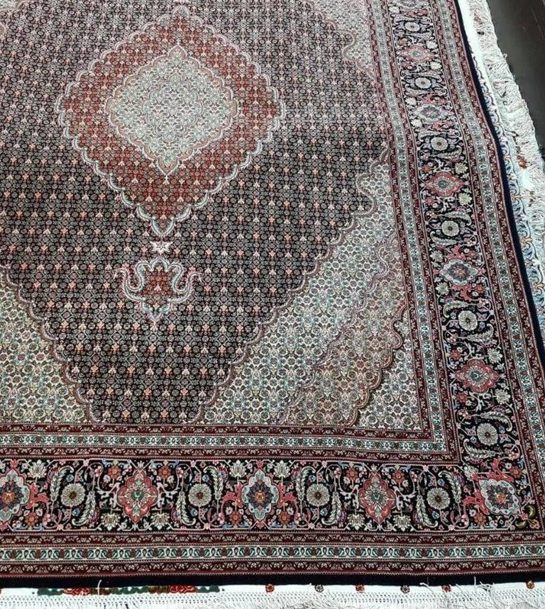 Mahi Genuine Hand-Knotted Persian Maralan Tabriz Rug/Carpet 3