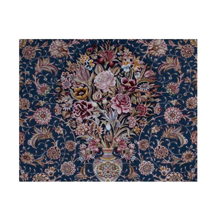 Salari Vase -Master Salari Hand-Knotted Genuine Persian Tabriz Rug or Carpet 3