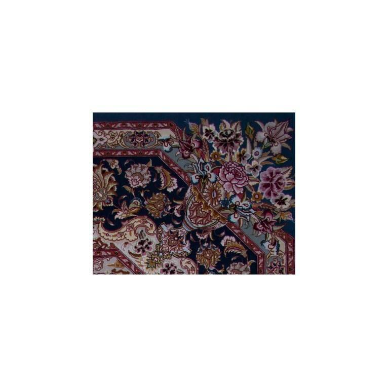 Salari Vase -Master Salari Hand-Knotted Genuine Persian Tabriz Rug or Carpet 4