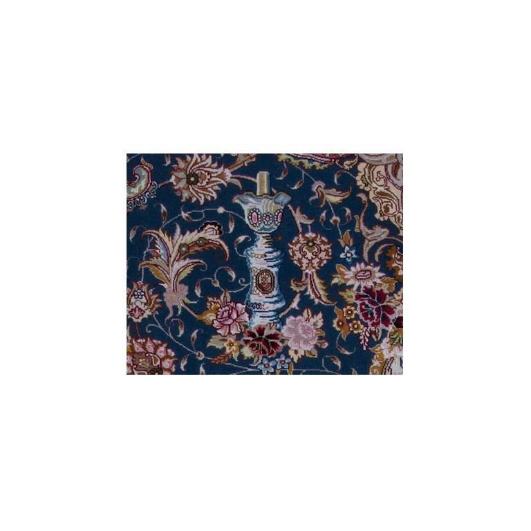 Salari Vase -Master Salari Hand-Knotted Genuine Persian Tabriz Rug or Carpet 6