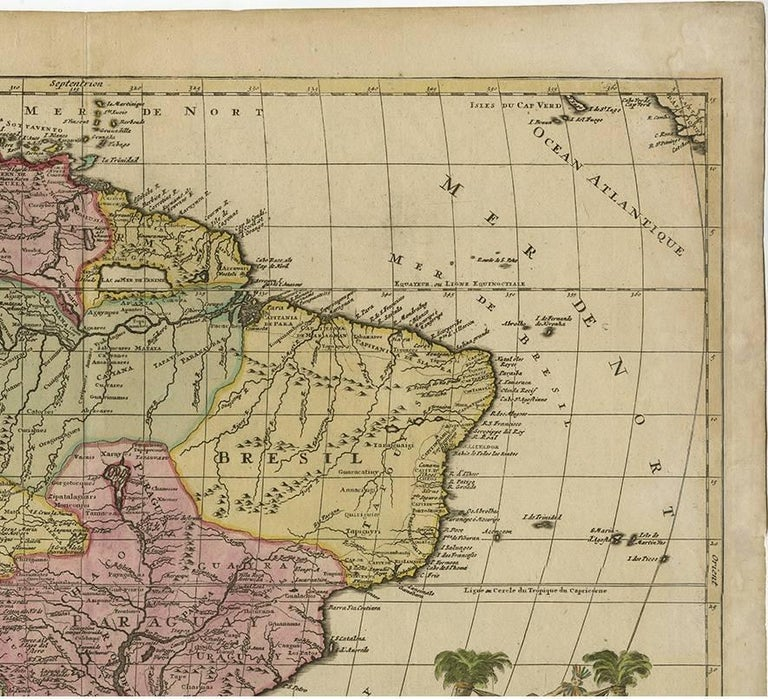 Antique map of south america by jb elwe 1792 for sale at 1stdibs antique map of south america by jb elwe 1792 in good condition for freerunsca Images
