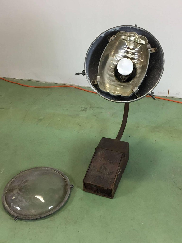 1950s Street Lamp From Brittany City At 1stdibs