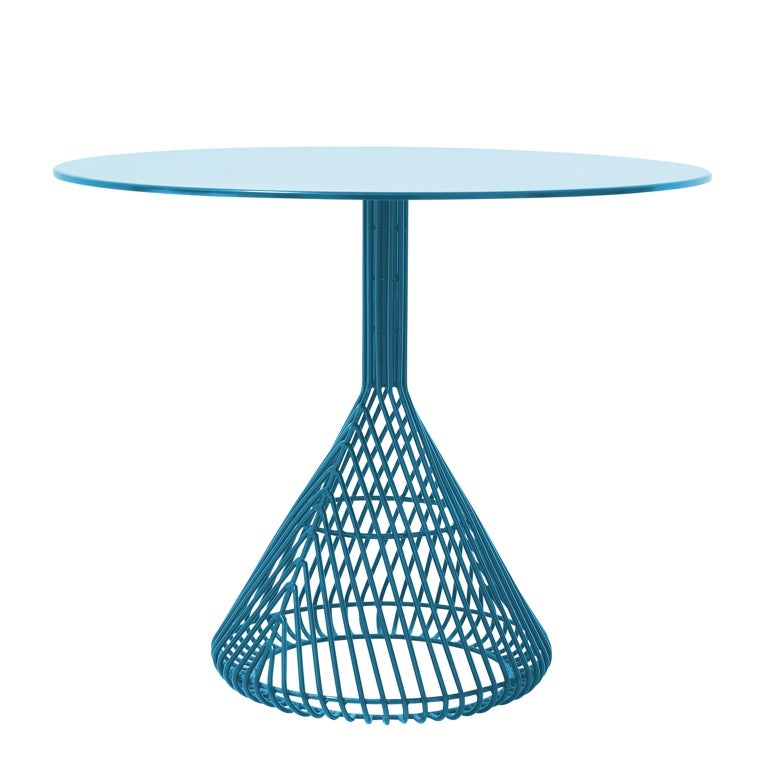Modern Wire Bistro Table By Bend Goods For Sale At Stdibs - Mid century modern bistro table