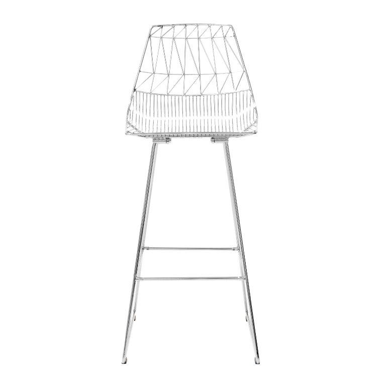 Contemporary Wire Quot Lucy Quot Bar Stool By Bend Goods For Sale
