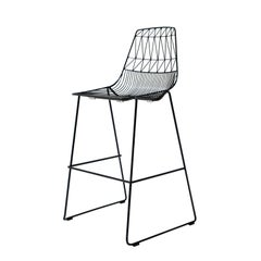 """Modern Wire """"Lucy"""" Stacking Bar Stool by Bend Goods"""
