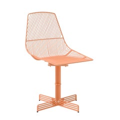 "Modern Wire ""Swivel Ethel"" Dining Chair by Bend Goods"