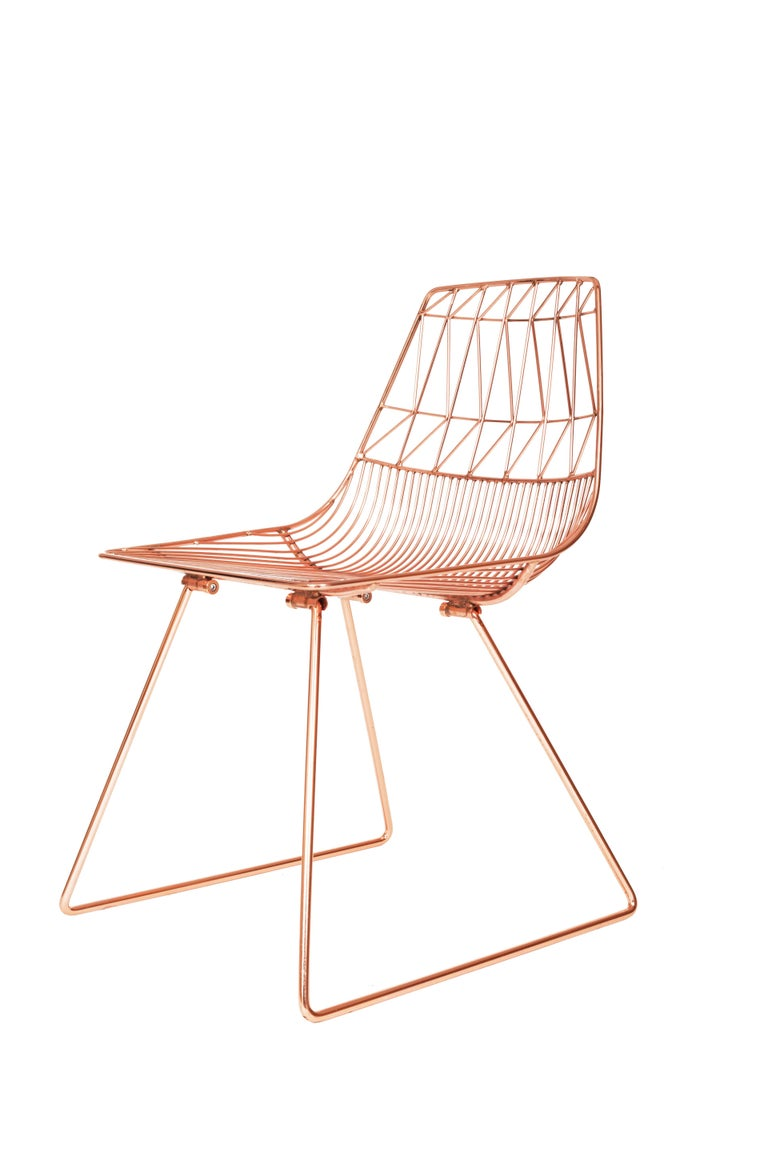 Modern Wire Lucy Dining Chair By Bend Goods For Sale At