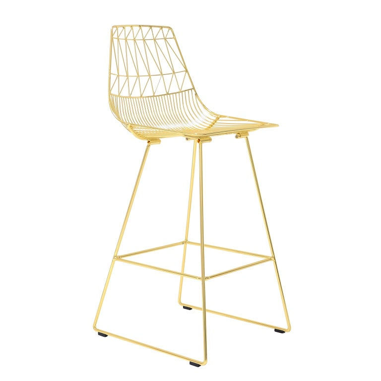 Modern Wire Quot Lucy Quot Counter Stool By Bend Goods At 1stdibs