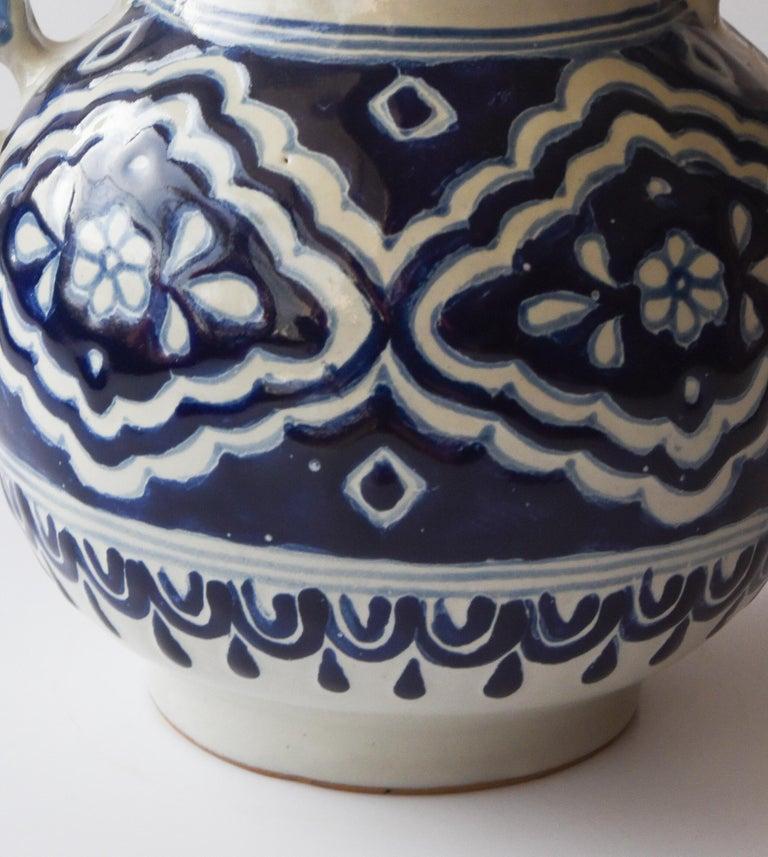 Hand-Crafted Talavera Cesar Torres Puebla Mexico Ceramic Traditional Mexican Decorative Piece For Sale