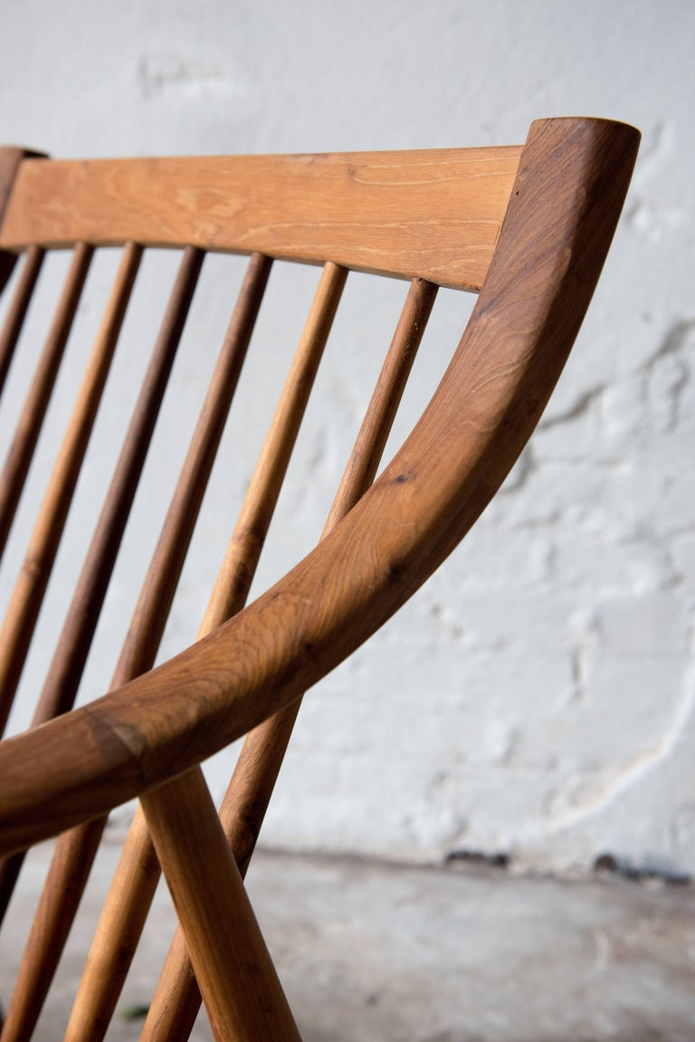 21th Century Lounge Chairs in Teak Wood In Excellent Condition For Sale In Helsingborg, SE