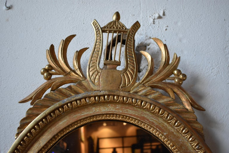 Hand-Carved Late 18th Century Swedish Gustavian Wall Sconces, Stockholm, 1780s For Sale