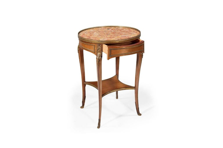 Louis XV 19th Century Bouillotte Table For Sale