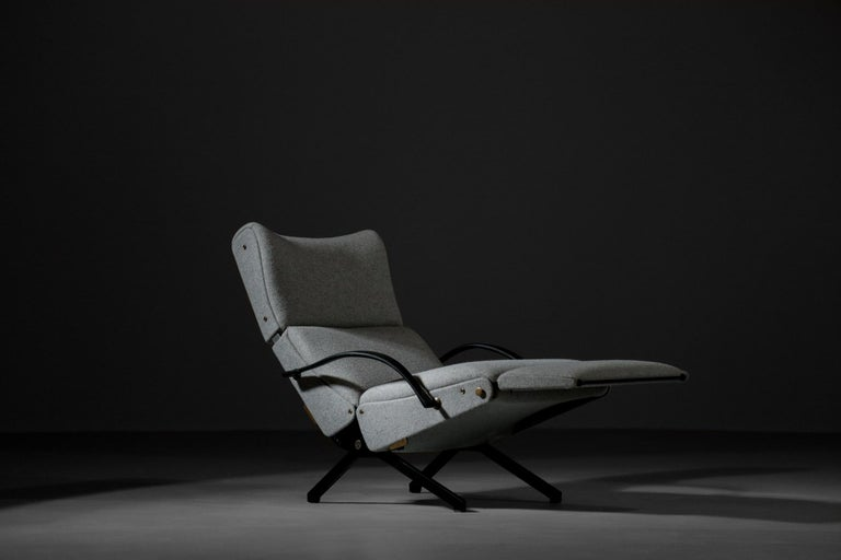 Osvaldo Borsani Lounge Chair Model P40 for Tecno, Italy In Excellent Condition For Sale In Lyon, FR