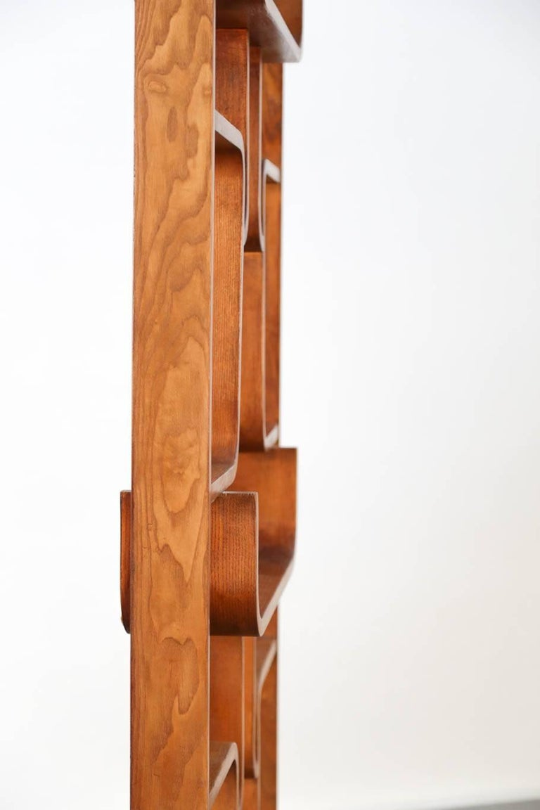 Wall Units Czech Republic Screen Oak, 1960s, Ludvik Volak, Midcentury For Sale 1