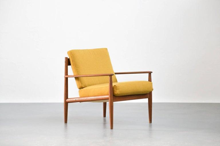 Lounge chairs grete jalk danish teak scandinavian design for sale at 1stdibs - Vintage lyon lounge ...