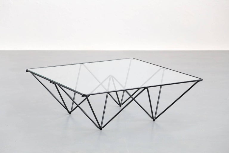 Mid-Century Modern Geometric Alanda Coffee Table by Paolo Piva, 1970s For Sale