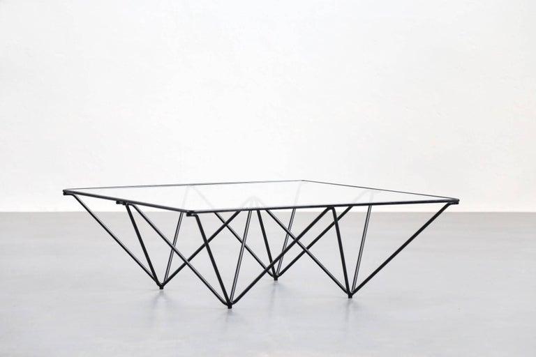 Italian Geometric Alanda Coffee Table by Paolo Piva, 1970s For Sale