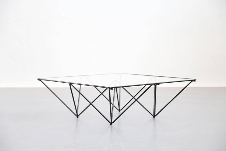 20th Century Geometric Alanda Coffee Table by Paolo Piva, 1970s For Sale