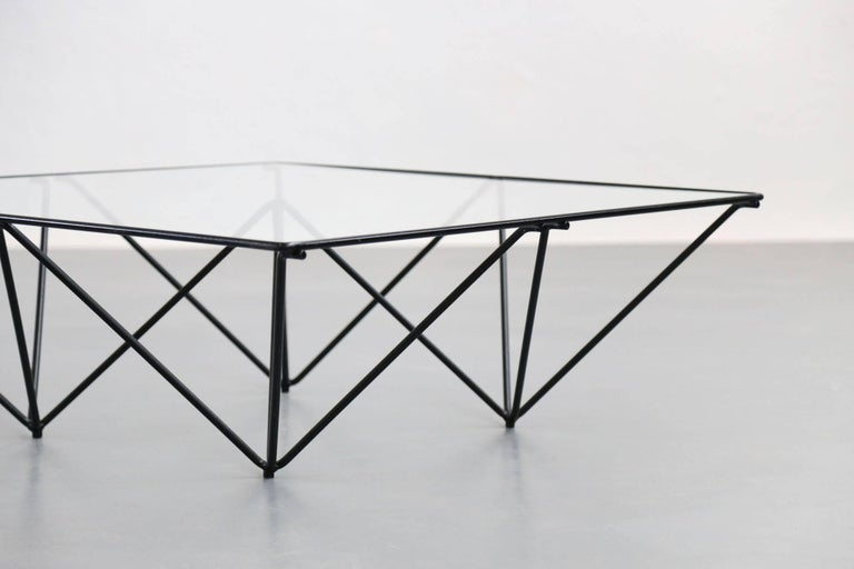 Geometric Alanda Coffee Table by Paolo Piva, 1970s For Sale 1