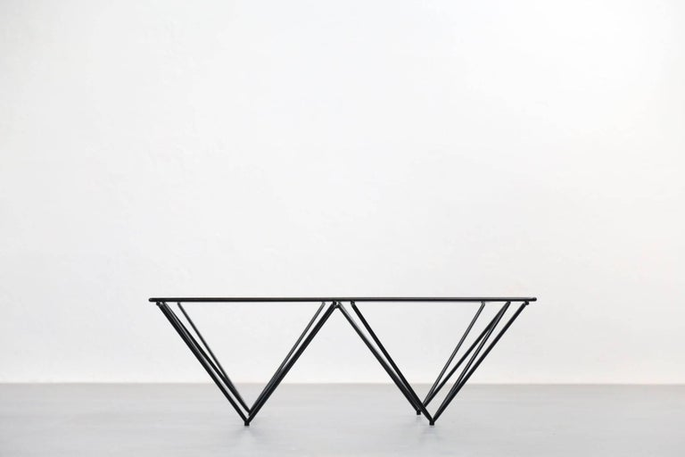 Geometric Alanda Coffee Table by Paolo Piva, 1970s For Sale 2