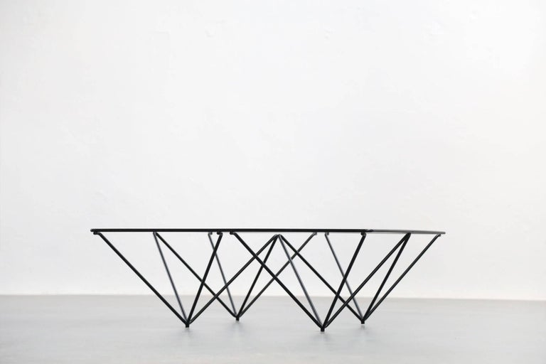 Geometric Alanda Coffee Table by Paolo Piva, 1970s For Sale 3