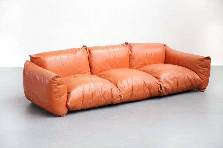 Sofa Mario Marenco for Arflex, 1970s, Midcentury In Good Condition For Sale In Lyon, FR