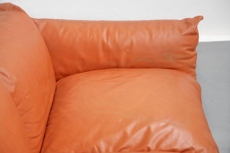 Sofa Mario Marenco for Arflex, 1970s, Midcentury For Sale 1