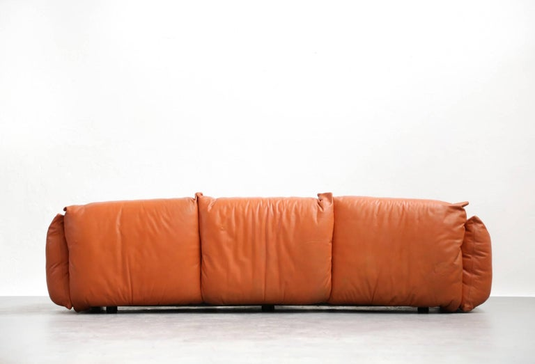 Sofa Mario Marenco for Arflex, 1970s, Midcentury For Sale 2