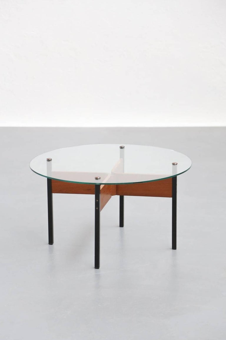 Metal Small Modern Coffee Table, 1960s For Sale