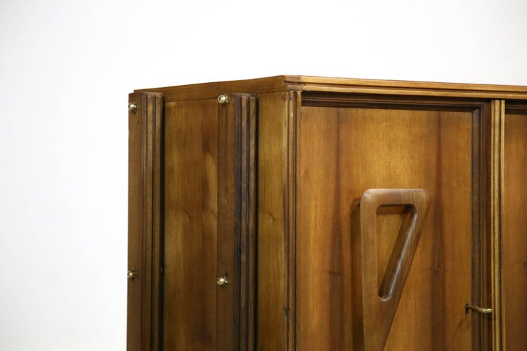 Italian Rosewood Sideboard, 1960s For Sale 2