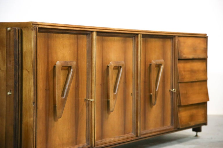 Italian Rosewood Sideboard, 1960s For Sale 3