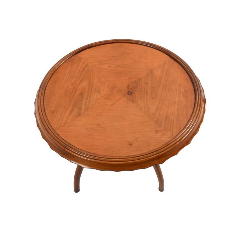 Art Deco 1940s Midcentury Osvaldo Borsani Coffee Table Centre Table, Italian Design For Sale