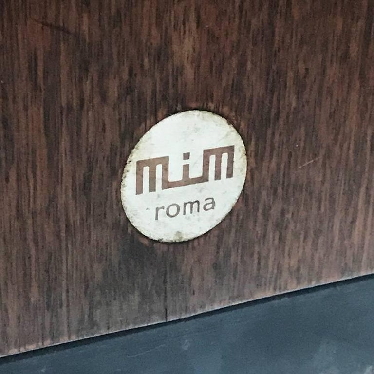 Italian Ico Parisi for MIM Roma, Desk Rosewood Executive, Italy, Mid-Century 1950s For Sale