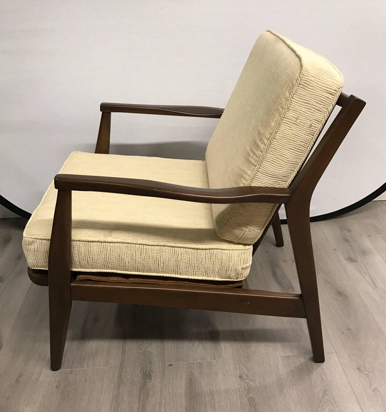 Mid-20th Century Pair of Danish Midcentury Modern Armchairs For Sale