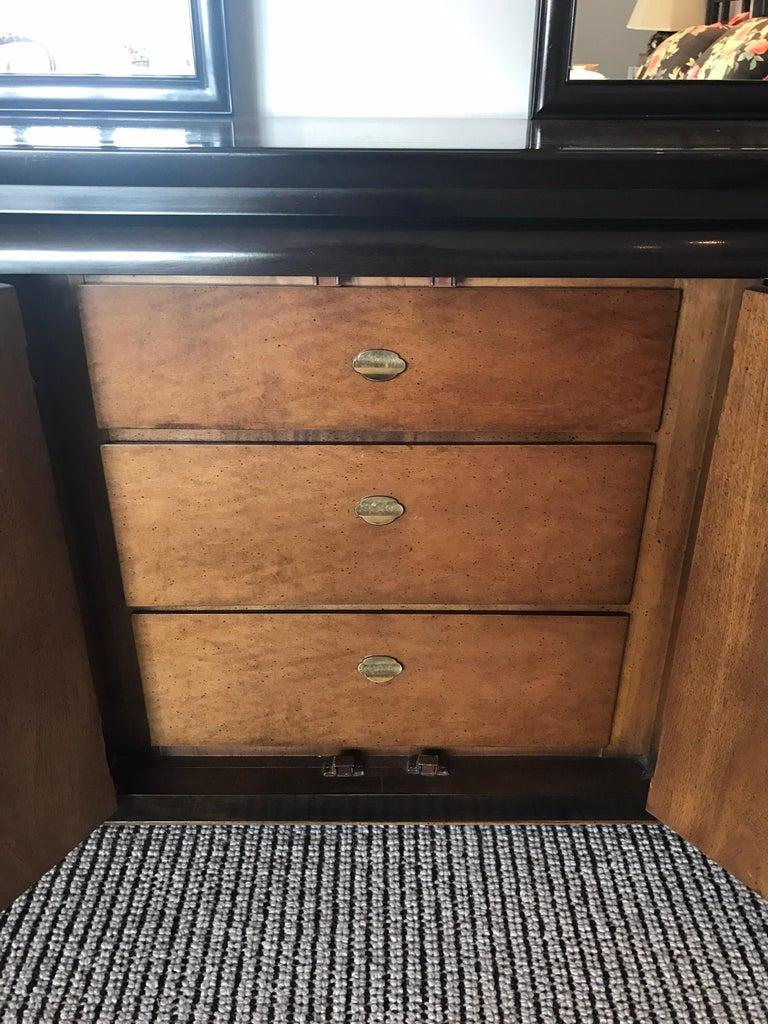 Century Furniture Company Kommode Und Zwei Spiegel Chinoiserie