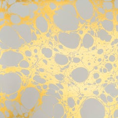 Wabi Bone Wallpaper or Wall Mural in Gold Metallic