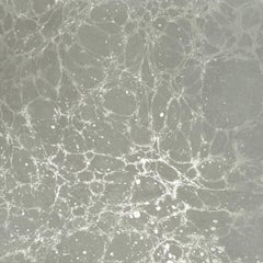 Lunaris Fog Wallpaper or Wall Mural in Grey and Silver Metallic