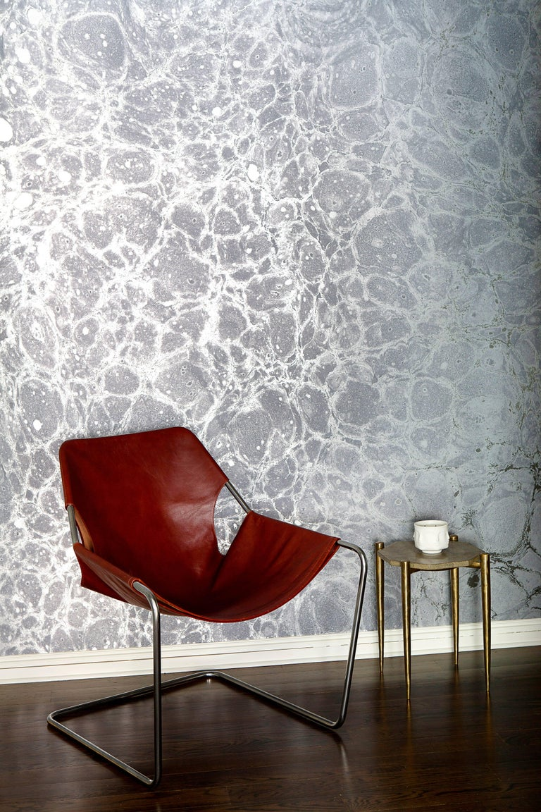 All of our wallpapers are priced by the square foot and are non-repeating custom murals. As a result, each order is laid out and printed to fit the exact dimensions of your wall. The Lunaris collection is printed on a commercial grade type II silver