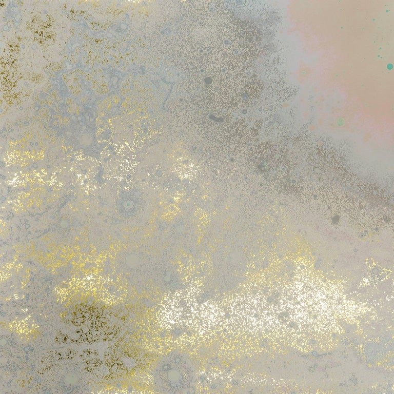Inverted Spaces Orion Wallpaper or Wall Mural in Gold Metallic For Sale
