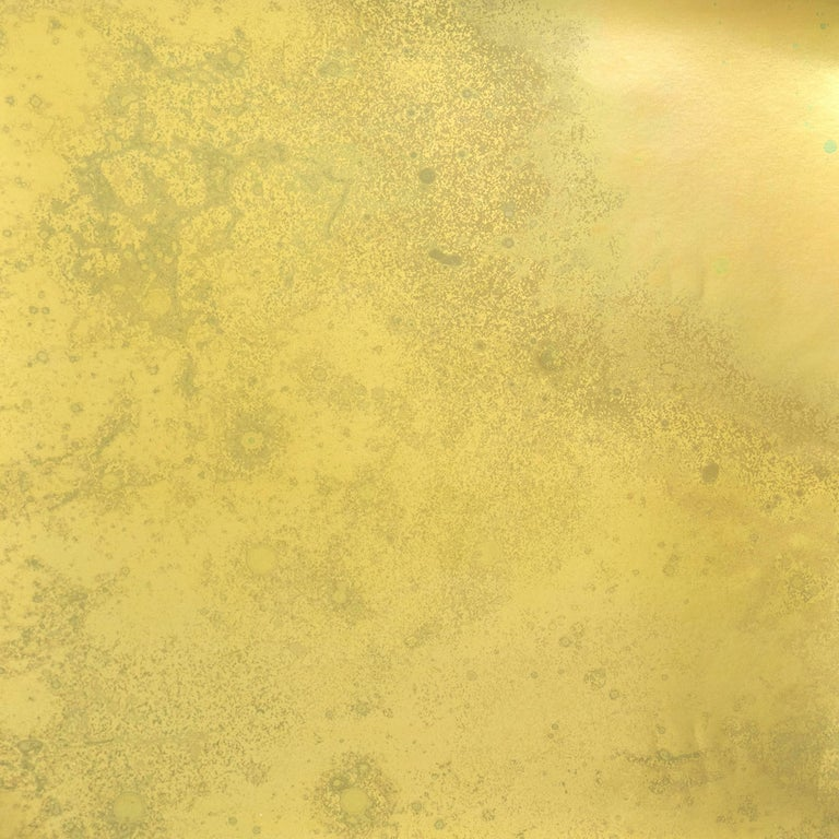 Inverted Spaces Phoenix Wallpaper or Wall Mural in Gold Metallic