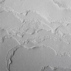 Snarkitecture Topographies Haze Wallpaper in Matte Black Gradient