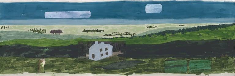 American Faye Toogood Woodlands, Fields, Moors in Fields Wallpaper For Sale