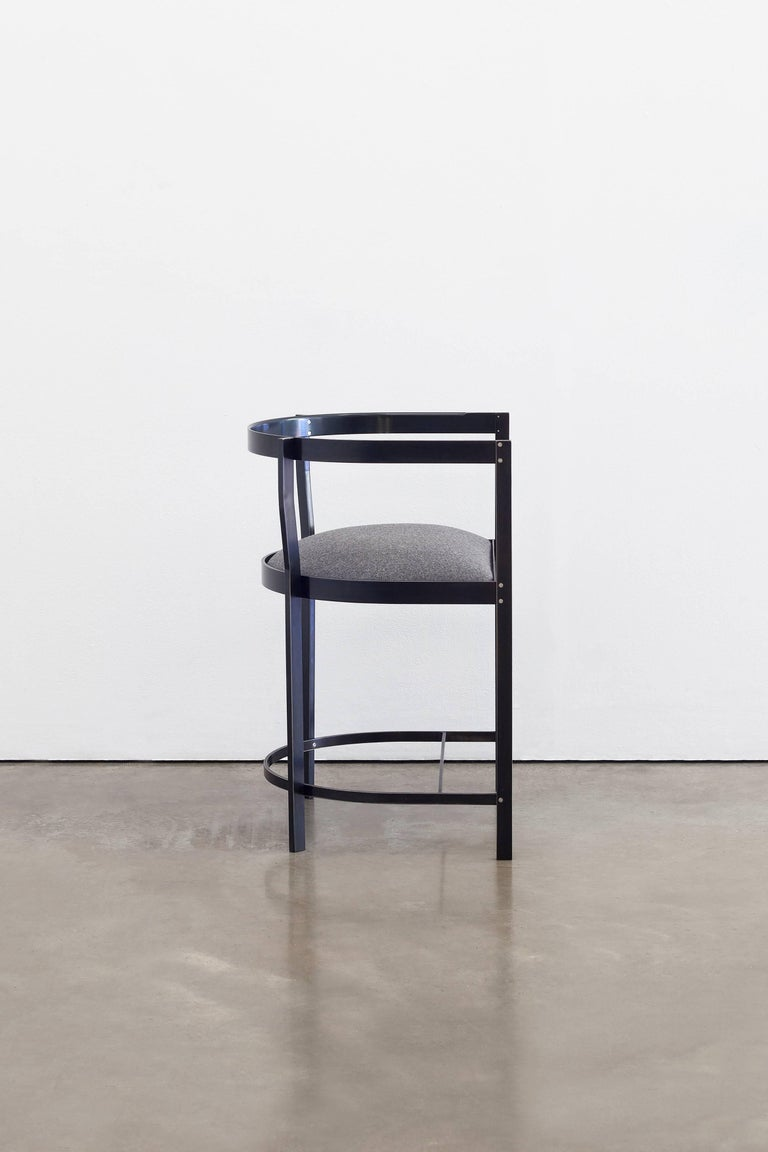 The Connect chair is inspired by the work of Hans Wegner, revisited in modern material and finishes.   A simple appearance disguises careful consideration of ergonomics and the human form. Sculptural lines and subtle joinery make this chair