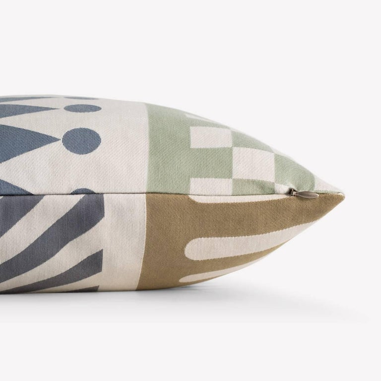 Modern Maharam Pillow, Palio by Alexander Girard For Sale