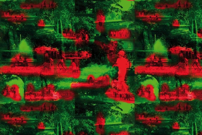 Modern Maharam Serpentine Galleries Wallpaper by Jean Nouvel For Sale