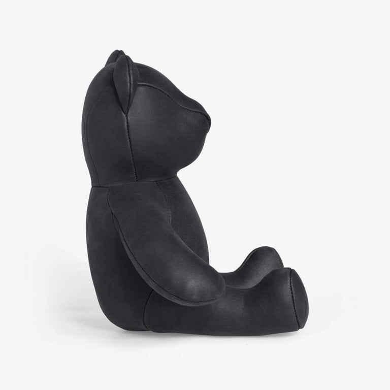 Maharam Bear by PIN-UP 008 Nightfall  Initially created for PIN–UP's Fall/Winter 2016/2017 issue, the Bear is handmade by a small-scale Canadian producer from Loam, a high-quality Italian nubuck with a matte, velvety surface that's one of nine