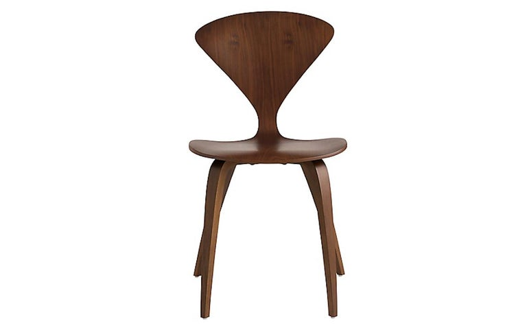 Mid-Century Modern Set of Cherner Side Chairs For Sale